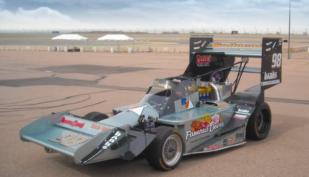 dallenbach racing team pike's peak race car
