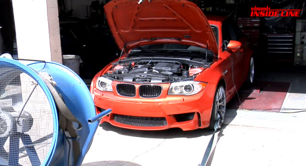 2011 bmw 1 series m on dyno