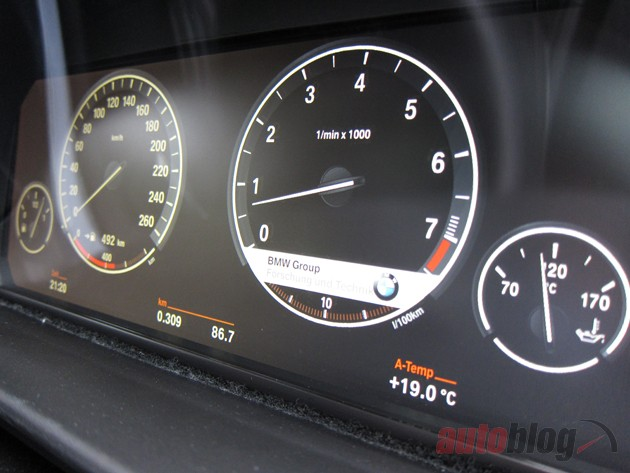 Exclusive Bmw Developing Customizable Lcd Gauges For