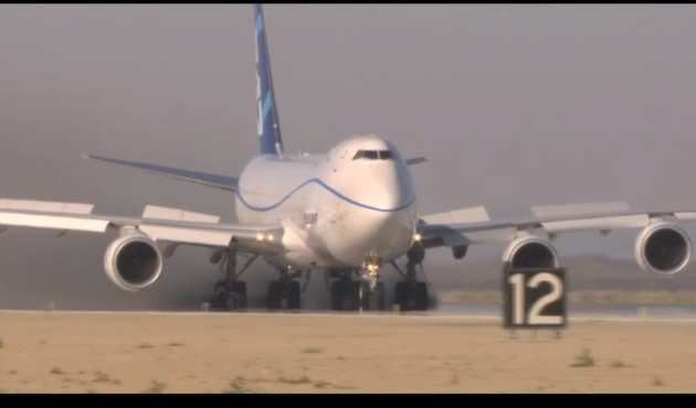 Boeing 747-8 Ultimate Rejected Takeoff testing