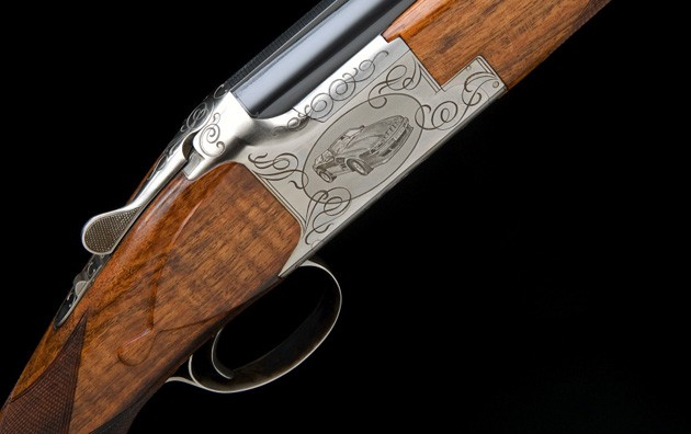 Aston Martin shotgun by Browning
