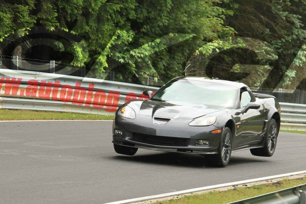 chevrolet corvette zr1 gets air at flugplatz