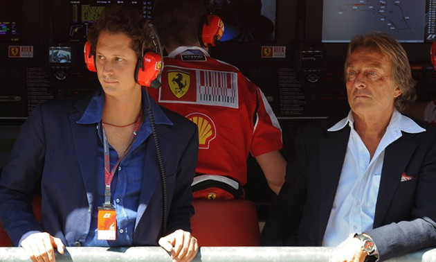 John Elkann and Luca di Montezemolo