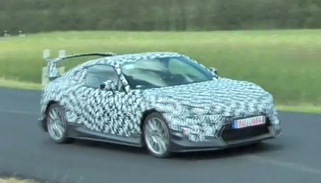Scion FR-S spy video