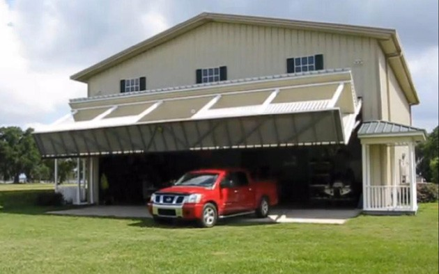 Video Innovative Hangar Home Conceals Garage Mahal