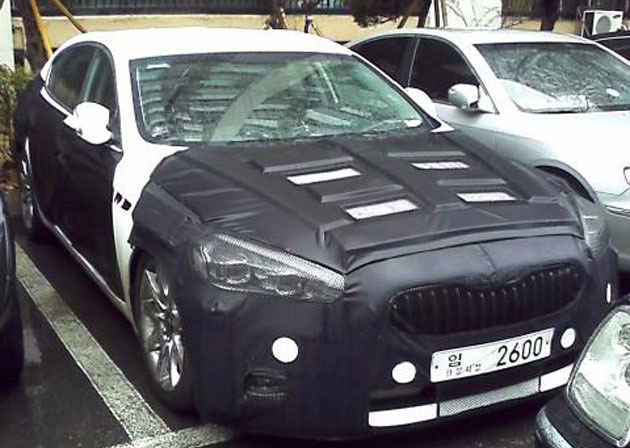 Kia K9 Spy Photo