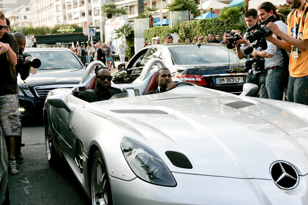 Kanye West Mercedes-McLaren SLR Stirling Moss