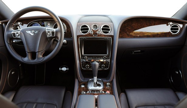 2011 Bentley Continental GT interior