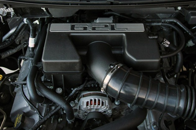 2011 Ford F-150 Harley-Davidson engine