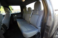 2011 Ford F-150 4x4 SuperCrew rear seats