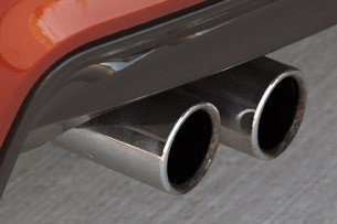 2011 BMW 1 Series M Coupe exhaust system