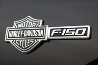 2011 Ford F-150 Harley-Davidson badge
