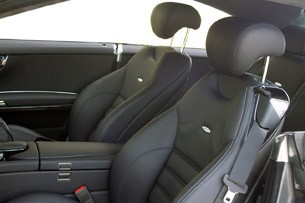 2011 Mercedes-Benz CL63 AMG front seats