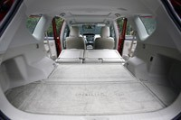 2012 Toyota Prius V rear cargo area