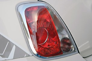2012 Fiat 500 Abarth taillight