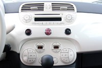 2012 Fiat 500C instrument panel