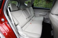 2012 Toyota Prius V rear seats