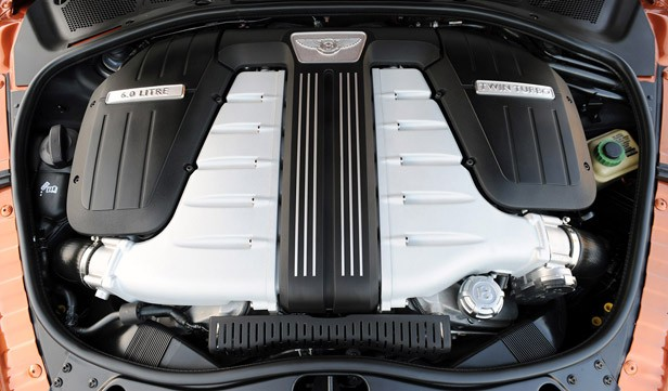 2011 Bentley Continental GT engine