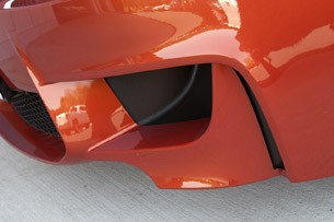 2011 BMW 1 Series M Coupe front fascia