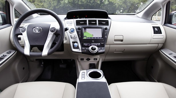 2012 Toyota Prius V interior