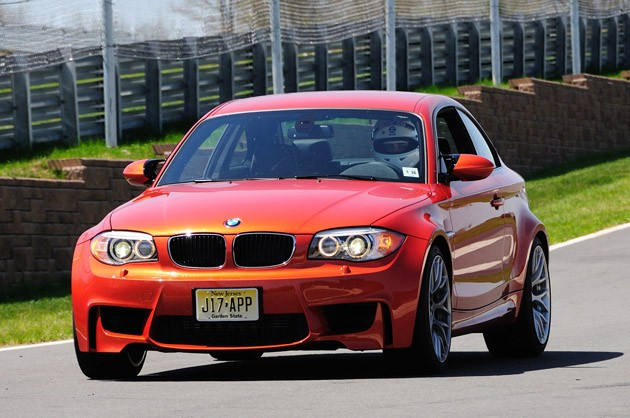 2011 BMW 1 Series M Coupe driving