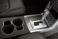 2011 Nissan Pathfinder center console