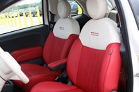 2012 Fiat 500C front seats
