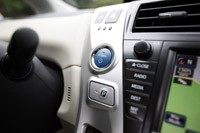 2012 Toyota Prius V start button