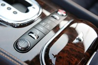 2011 Bentley Continental GT start button