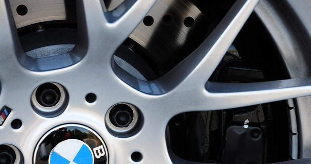 2011 BMW 1 Series M Coupe wheel detail