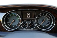 2011 Bentley Continental GT gauges