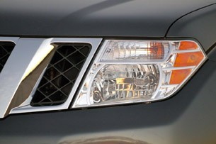 2011 Nissan Pathfinder headlight