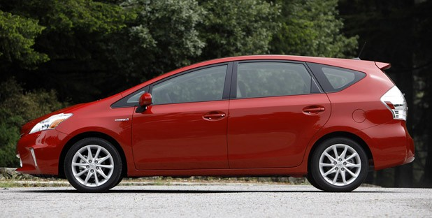 2012 Toyota Prius V side view