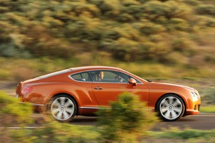 2011 Bentley Continental GT driving