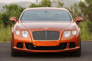 2011 Bentley Continental GT front view