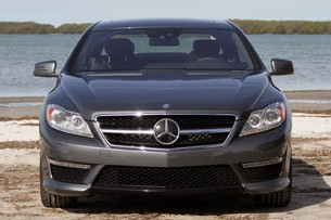 2011 Mercedes-Benz CL63 AMG front view
