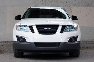 2011 Saab 9-4X front view