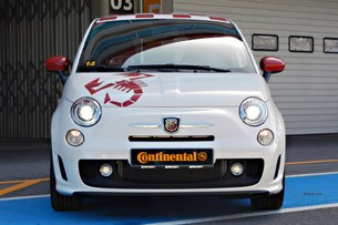 2012 Fiat 500 Abarth front view