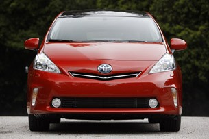 2012 Toyota Prius V front view