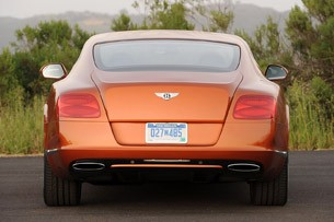 2011 Bentley Continental GT rear view