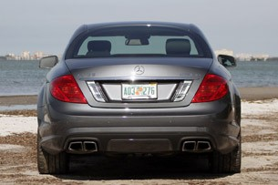 2011 Mercedes-Benz CL63 AMG rear view