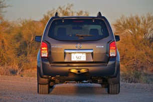 2011 Nissan Pathfinder rear view