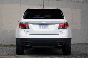 2011 Saab 9-4X rear view