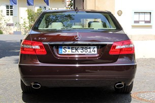 2012 Mercedes-Benz E350 rear view