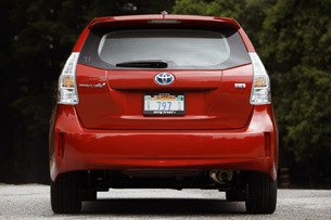 2012 Toyota Prius V rear view