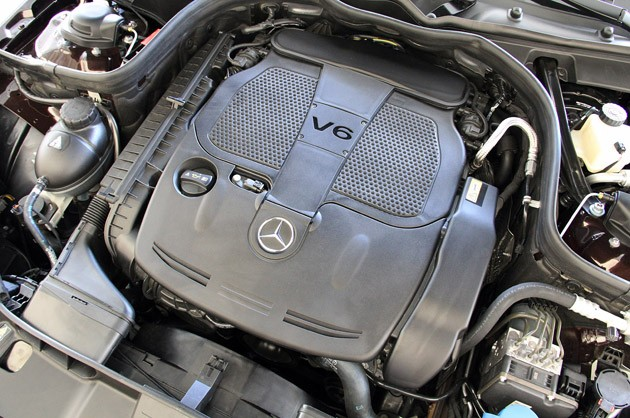 2012 Mercedes-Benz E350 engine