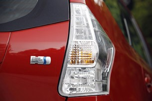 2012 Toyota Prius V taillight