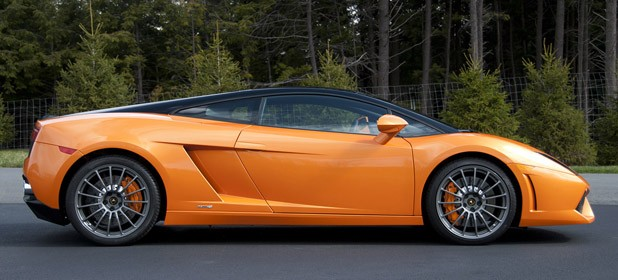 2011 Lamborghini Gallardo LP 550-2 Bicolore side view