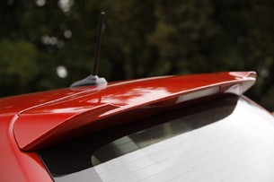 2012 Toyota Prius V roof spoiler