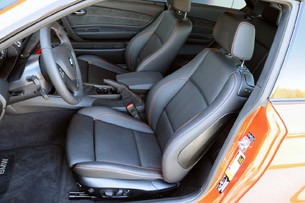 2011 BMW 1 Series M Coupe front seats